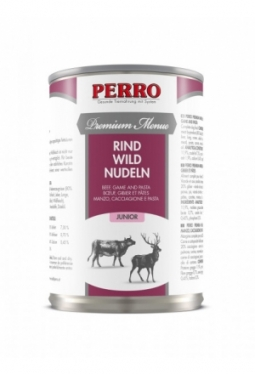 Menue Junior Rind, Wild & Nudeln